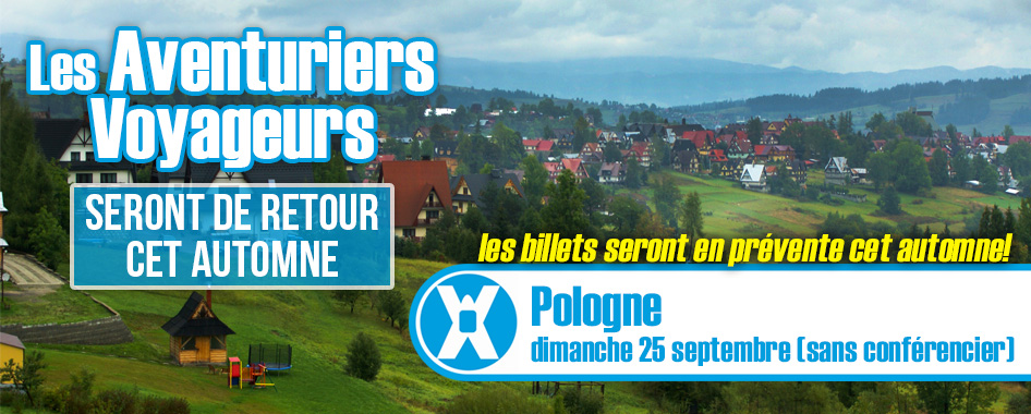Aventuriers voyageurs: Pologne
